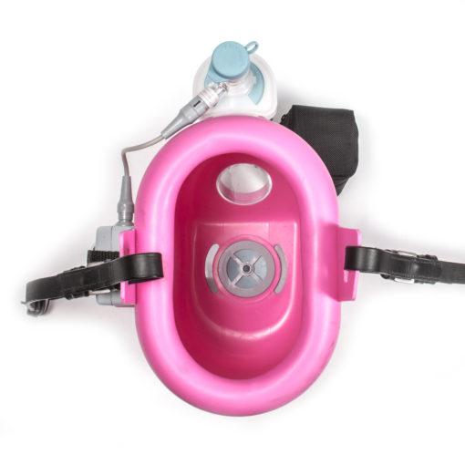 Flexineb 2 Portable Equine Nebulizer Pink Upper View