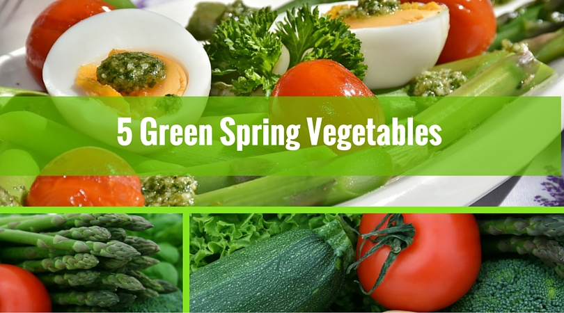 5 Green Spring Vegetables You Should be Eating