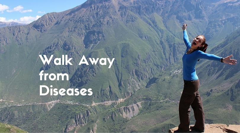Walk Away from Disease – 6 Benefits of Walking Regularly