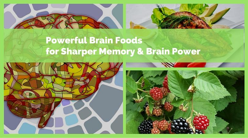 5 Powerful Brain Foods for Sharper Memory & Brain Power