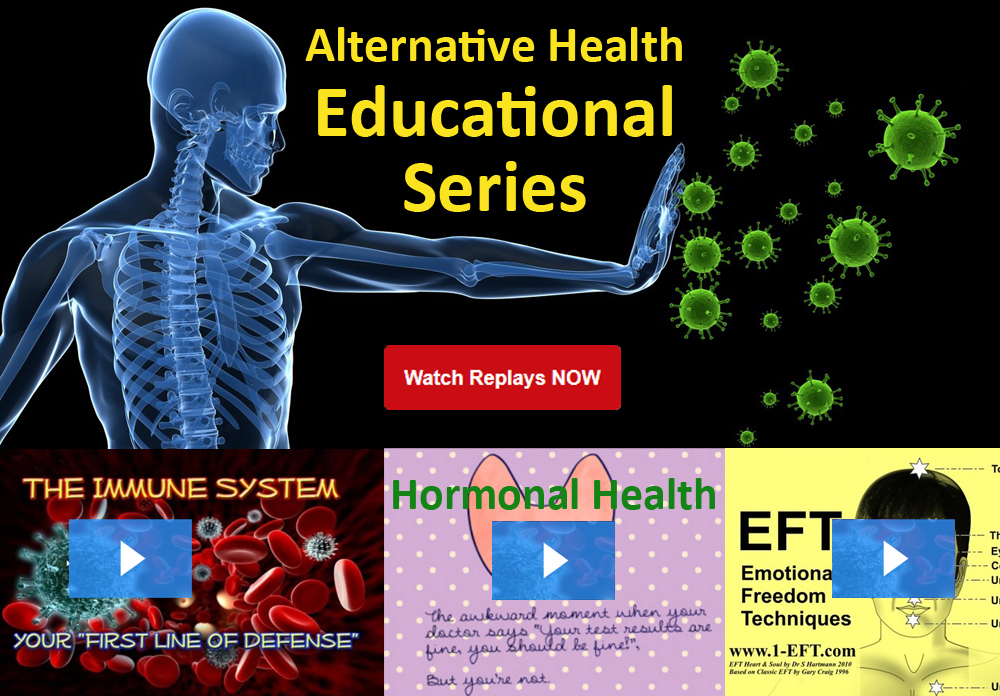 Alternative Health Webinar Replays