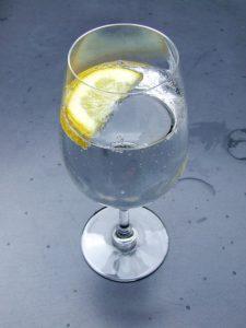detox with lemon water