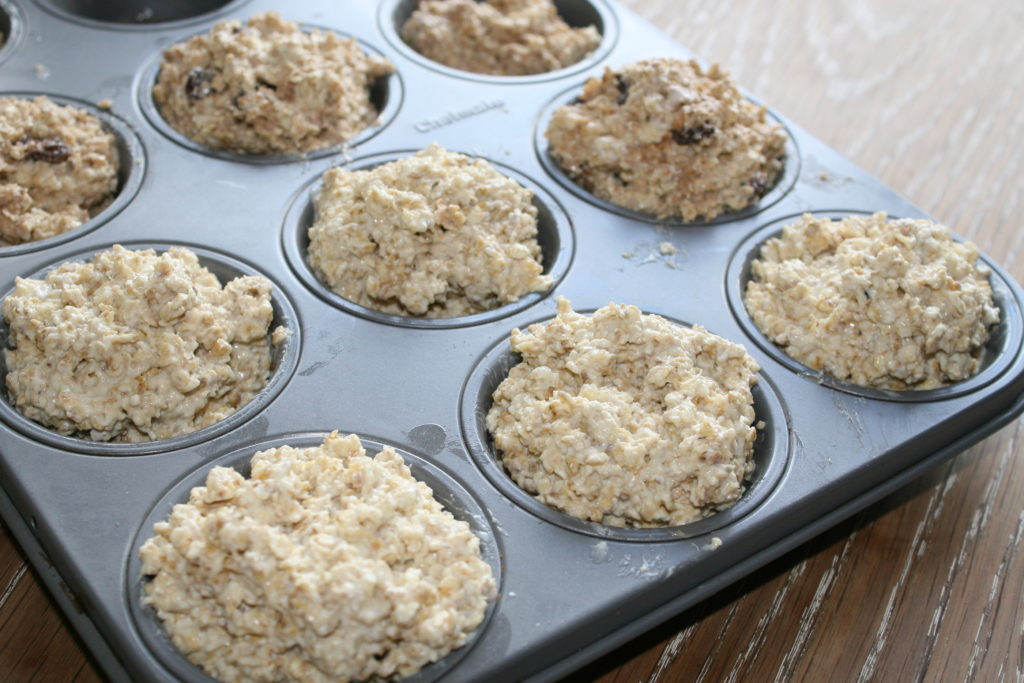 Oat muffin tray