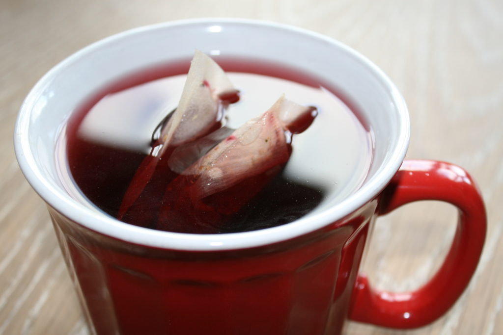 fruit tea for adding the ACV