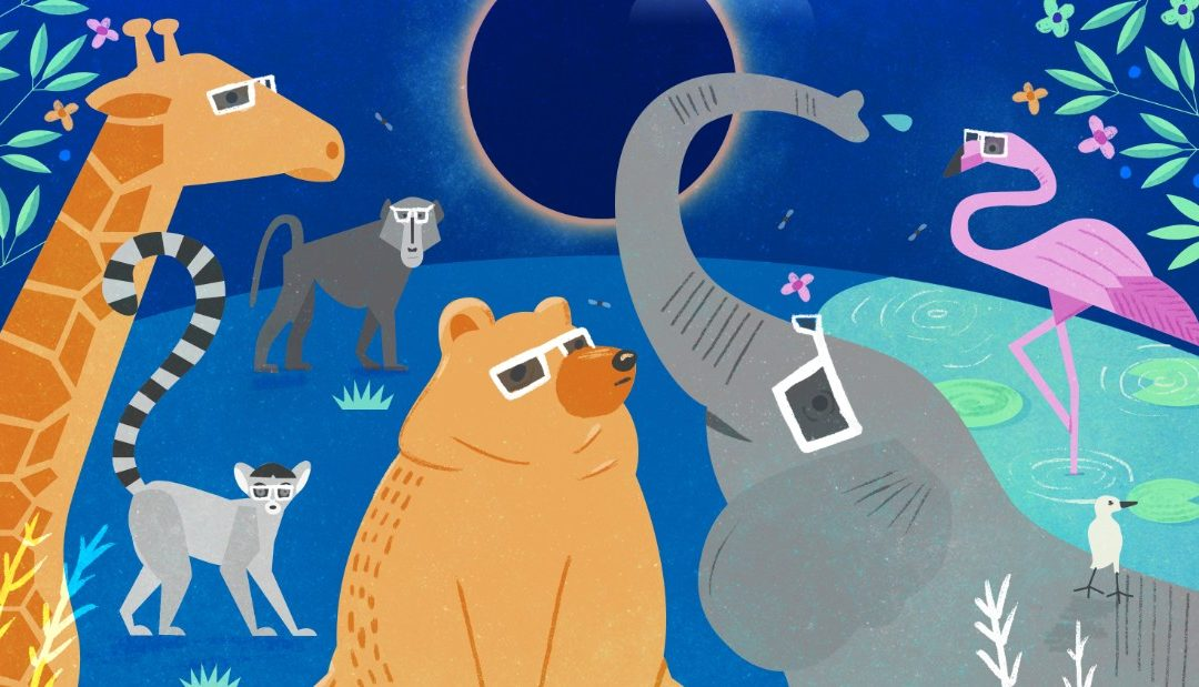 Help solve an ancient mystery about the eclipse: Figure out what the animals do