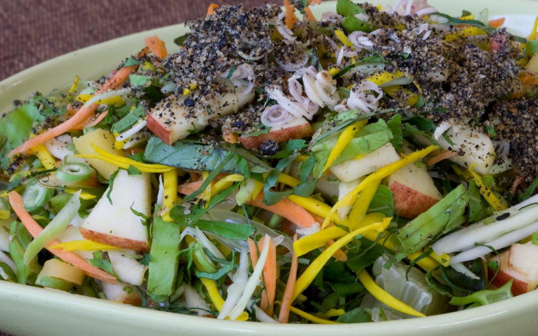Hearty Raw Salad Recipe