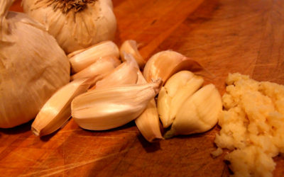 Immune Boosting Garlic & Ginger Soup