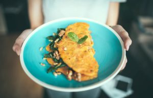 hearty omelet recipe