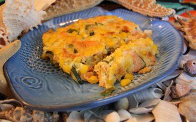 Wild Salmon & Veggie Casserole