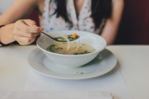 classic chicken soup garlic for immune boosting